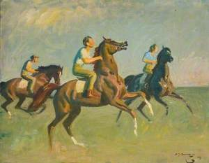 Study for 'Early Morning, Newmarket'