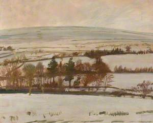 An Extensive Winter Landscape, Withypool, Exmoor