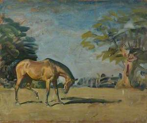 A Horse in a Landscape