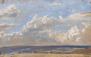 Wide Landscape with Stacks