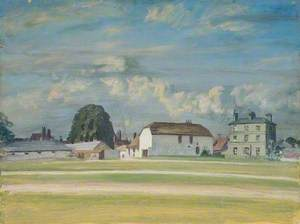 Study of Buildings and Newmarket Stables