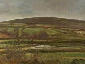 Landscape, Withypool, Exmoor, Winter