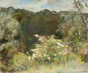 A Landscape with Foliage