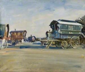 Study of Gipsy Caravans