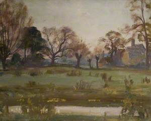 A Landscape with Cottage