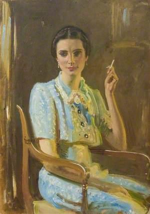 Study for 'Miss Hancock'