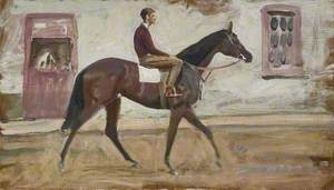 A Lad on a Racehorse