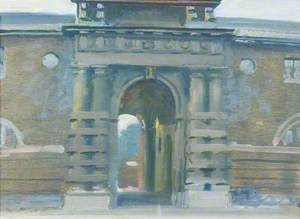 Study at Horse Guards' Barracks