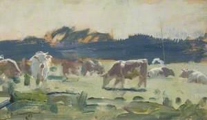 Study of Cattle, Thorington Street, Stour Valley
