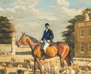 Major E. Shackle, Buckinghamshire Farmers' Hunt