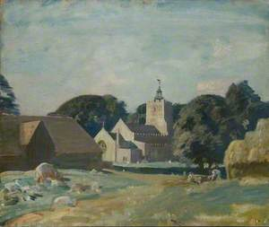 A View of Great Thurlow, Suffolk