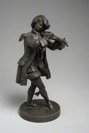Figure of a Violinist