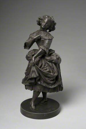 Figure of a Girl Dancing