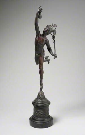 Mercury Holding the Caduceus and a Bag of Money