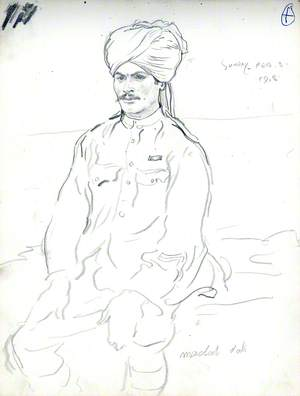 Madat Ali (Indian Soldier)