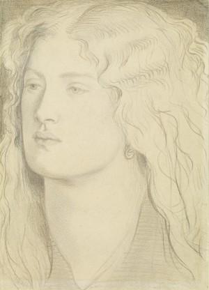 Fanny Cornforth – A Portrait Head