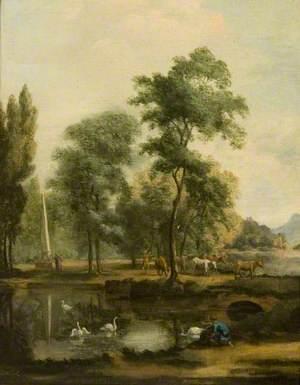 Landscape by a River