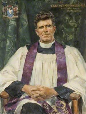 The Reverend Canon E. N. Gowing, MA, Rural Dean and Vicar of Prittlewell