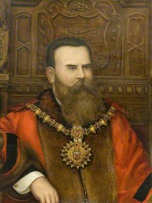 Alderman Dowsett, First Mayor of Southend (1892–1893)