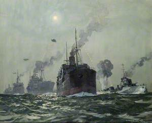 Convoy off Southend Pier: Attack by Moonlight