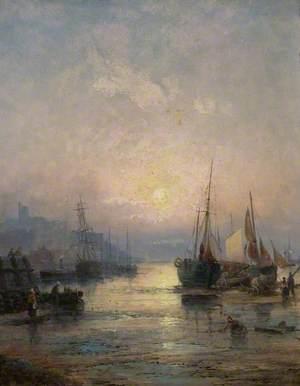 Sunrise, Low Tide, Leigh