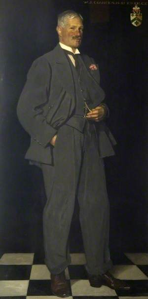 Sir William Julien Courtauld, BT, JP, CC (1870–1940), the Donor of the Town Hall to Braintree