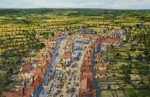 Chelmsford Town and Market in 1591