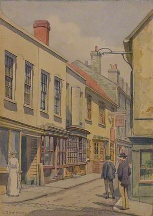 Tindal Street with the 'Dolphin Inn'