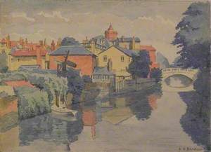 The Can from the Iron Bridge, Chelmsford