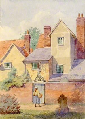 Houses in Ingatestone Churchyard