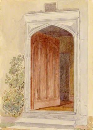 Tudor Doorway, Mays Farm, Sandon