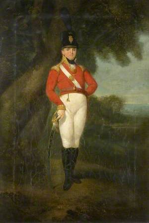 Captain George Cheveley of the Roxwell Volunteers