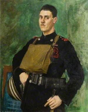 District Officer F. G. Keen of Chelmsford, OBE, Auxiliary Fire Service