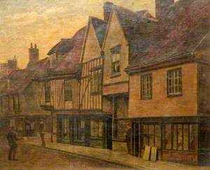 Old Houses, the Friars, Moulsham Street, Chelmsford