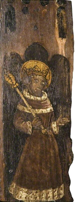 King with Gold Crown, possibly Edward the Confessor