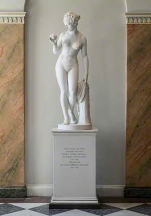 Venus with the Apple Awarded by Paris