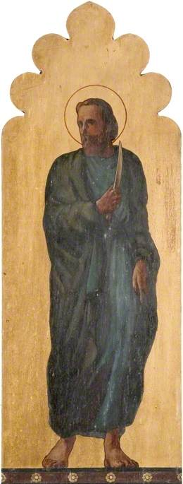St Bartholomew with Knife