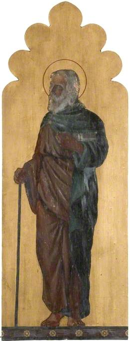 Saint with Stick and Book