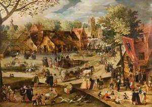 Flemish Village Merrymaking