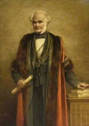 John Bawtree Harvey, JP (1809–1890), Mayor of Colchester (1881–1883)