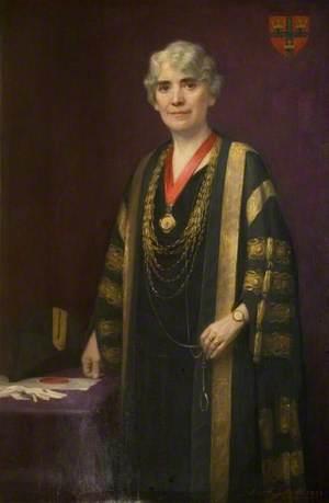 Councillor Catherine Buchanan Alderton, JP