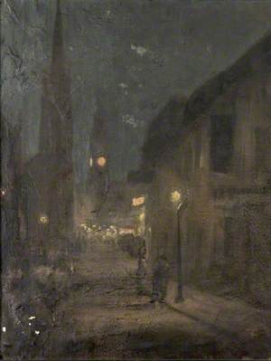 High Street, Colchester at Night