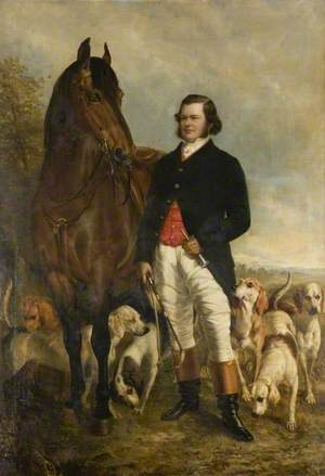 William Philip Honywood of Markshall, near Coggeshall (1823–1859), High Sheriff (1851)