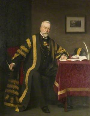 Alderman Wilson Marriage, JP, Portreeve of Colchester