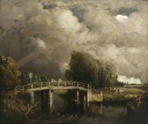 The Fen Bridge, near Dedham (Constable's Country)