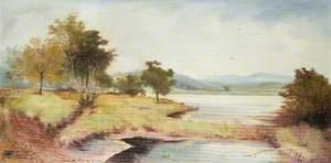 Countryside River Scene