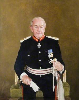 The Right Honourable the Lord Braybrooke, Knight of St John, MA, JP, Lord Lieutenant of Essex (1992–2002)