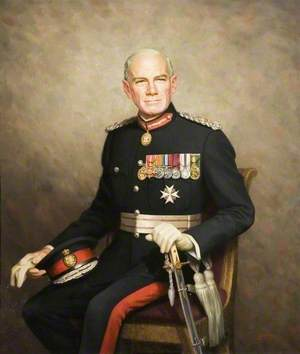 Colonel Sir John Ruggles-Brise, Bt, CB, OBE, TD, JP of Spains Hall, Finchingfield, Lord Lieutenant of Essex (1958–1978)