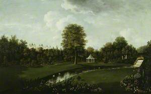Audley End, View from the Tea House Bridge