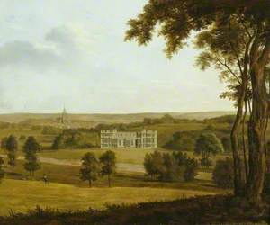 Audley End from the West